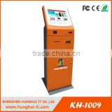 All-in-one Payment Kiosk With Cash Acceptor / Coin Dispenser Bill Payment Kiosk / Card Reader Self Payment Kiosk manufacturer