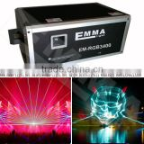 outdoor laser lighting system, professional 40W RGB animation (high configuration)high power laser