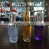 elegant 50ml frosted glass bottle for lotion with sprayer mist, cosmetic glass bottle, cosmetic packaging tube