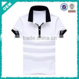 Casual business wear style shirt , pure white polo shirt, cool & clear cottom mens's polo T (lyt03000184)