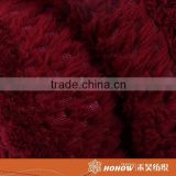 Customized high quality 100% woven acrylic wool blanket