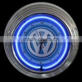 Single light car lovers neon clock