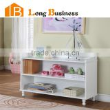 LB-HS5029 Childrens 2 shelf White Bookcase