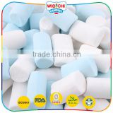 Halal novelty short soft candy blue marshmallows                                                                         Quality Choice