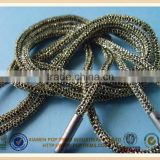 Hot sale metal aglets shoelace with custom logo