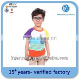 Promotional customized Logo printed Kid's blank tshirts