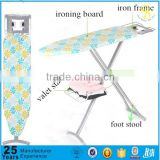 Factory price professional clothes ironing table, standable ironing board for ironing clothes