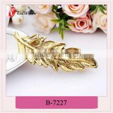 China new design popular metal snap hair clips,barrette hair pins and clips,decorative hair claw clips
