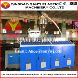 CE certified PVC/WPC template/furniture/decoration/advertising/kitched/bathroom crust foam board making machine