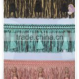curtain tassel fringe trims,brush curtain tassel