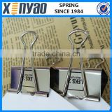 Hight quality Promotional gifts customer dessign printing silver big binder clips                                                                         Quality Choice
