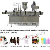 small dose liquid filling and capping machine