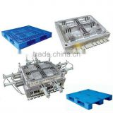 Plastic transport pallet injection mold