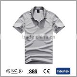 cotton spandex bulk wholesale new gray polo basketball t-shirts