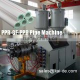 China Fiberglass Reinforced PPR Pipe Making Machine /PPR GF PPR Pipe Extrusion Machine/Production Line Maker