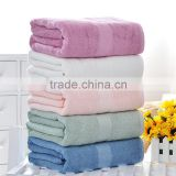 Bamboo Stain-border Bath Towel