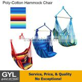 2016 Best Choice cotton rope hammock swing chair with arm rest ,Hammock Chair,Patio Hammock Swing Chair for Single