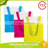 Beautiful bulk sale hot selling promotional easy carry plastic shopping bag factory