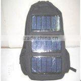 Solar backpack/solar energy backpack/solar charger bag for laptop/solar laptop backpack(OEM/ODM)