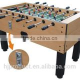 Professional 5ft classic sport coin operated table football soccer table game machine