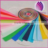 25mm width 12 colors satin ribbon for jewerly making