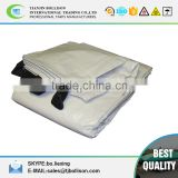 18' x 30' White & Black Reversible Extra Heavy Duty Tarp,White&Black Hay Tarps