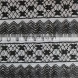 heavy black african knitting fabric george lace french lace fabric for nigerian women's dresses