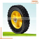 Yanto Chinese wheel solid rubber wheel Lawn Mower Wheel gardening tool replacement parts