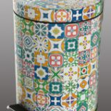 5L pedal bin, available for various pattern