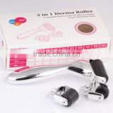 Wholesale high quality skin care 3 in 1 derma roller