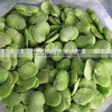 Frozen peeled broad bean