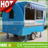 steamed corn SNACK CART, Mobile Kitchen Trailer, Kebab Trailer