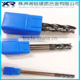 tungsten micro carbide end mills/carbide chamfering end mills/tungsten carbide ball mill