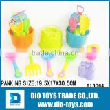 Hotsale Beach Toy Set 3 Pails with Sand Molds