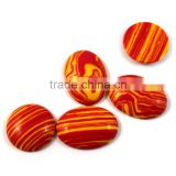 Natural Oval Smooth Agate Loose Gem Stones Beads