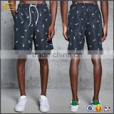 Ecoach high quality dolphin Print 100%polyester mesh lining color changing water resistant boys swim trunks
