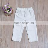 baby boy jeans fashion casual skinny pants boys cotton pants boys elastic waist pants