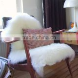 Super Soft Faux Sheepskin Chair Warm Hairy Carpet Seat Pad Plain Skin Fur Plain Fluffy Area Rugs Washable Bedroom Mat