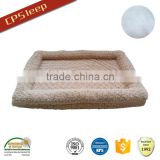 High Quality Polyester Fiber And Base Foam PV Fleece dog bed