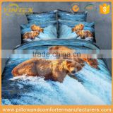 Bed Sheet Set 3D Printed Animal Duvet Cover for Wholesale