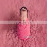 Newborn knit stretch wrap Baby backdrop Baby swaddle sack photography props Large size blanket photo props