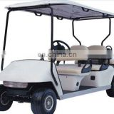 China professnal factory electric cart six seat back to back seat