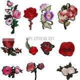 embroidery patch making flower patches embroidery for Women Clothing