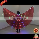 BestDance Led Isis Wings Costume Rechargeable Belly Dance Club Show Isis Wing with Led Rainbow Lights OEM
