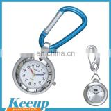 Advertising Products Stainless Steel FOB Nurse Watch with Carabiner
