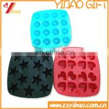 food grade silicone ice cube tray/eco-friendly silicone ice pop mold