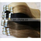 Grade 6a 7a 8a 9a 10a Double Drawn Soft Tight No Tangle No Shedding 100% remy human tape hair extension