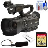 Cheap JVC GY-HM250U Ultra 4K HD 4KCAM Professional Camcorder & Top Handle Audio Unit