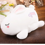 China Factory Manufacture Cute Wholesale Warm Healthy Rabbit Hare Plush Toy