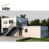 Multipurpose modular container house